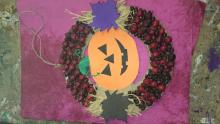 Tökös dekor,termésékből- M.Krisztofer
